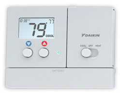 Thermostat daikin programmable value